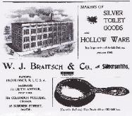 1897 W.J. Braitsch & Co. Ad