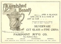 1895 Pairpoint Mfg. Co. Ad