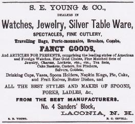 1868 S.E. Young & Co. Ad