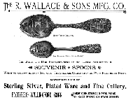 1891 R. Wallace & Sons Mfg. Co. Ad
