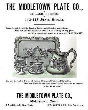 1894 Middletown Plate Co. Advertisement