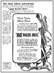 1908 Ad - 1847 Rogers Bros.