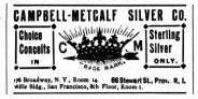 1893 Campbell Metcalf Ad
