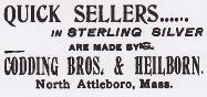 1897 Codding Bros. & Heilborn Advertisement