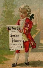 c. 1880 Wm. Faber & Sons Tradecard
