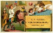 c. 1885 Charles P. Forbes Trade Card