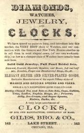 1868 Giles Bros. & Co. Ad