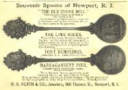 1891 H.A. Heath & Co. Advertisement