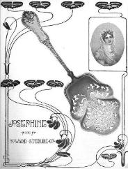 1899 Howard Sterling Co. Ad - Josephine Pattern