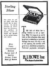 1934 H.J. Howe Ad