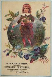 c. 1880 Keller & Bro. Trade Card