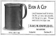 1899 J.B. & S.M. Knowles Co. Ad