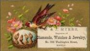 c. 1880 S. & J. Myers Trade Card