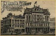 c. 1885 Roehm & Wright Advertising Postcard