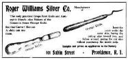 1908 Roger Williams Silver Co. Advertisement