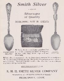 1912 E.H.H. Smith Ad, Dorothy Vernon & Louis XVI Patterns