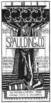 1897 Spaulding & Co. Advertisement