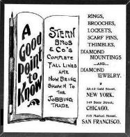1899 Stern Bros. & Co. Ad
