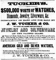 1867 J.W. Tucker & Co. Advertisement