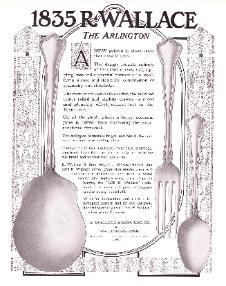 1912 R. Wallace Ad - Arlington Pattern